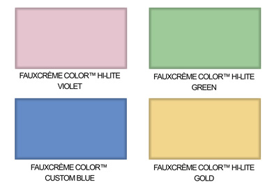 faux finishing spring color palette